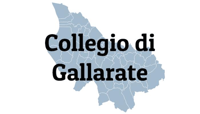 Mappa Collegio di Gallarate
