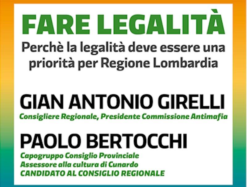 Fare legalità, la priorità del Pd in Regione