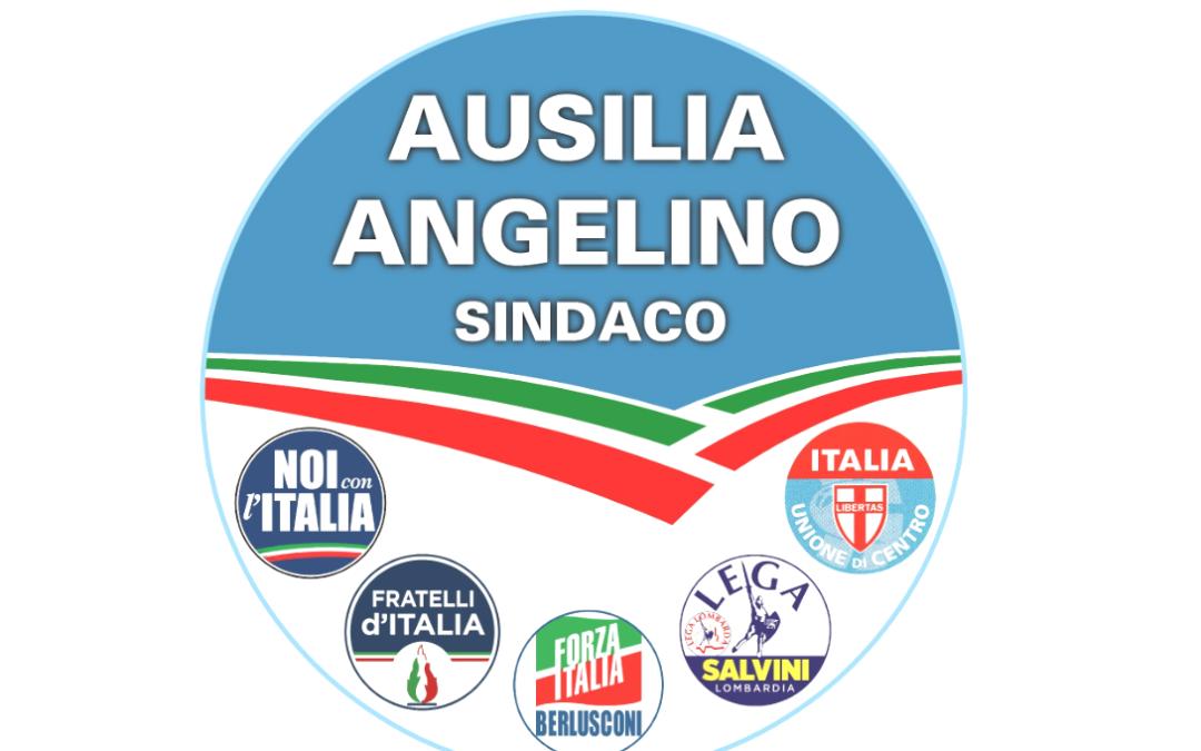 Cinque partiti, il tricolore e l'azzurro per Ausilia Angelino