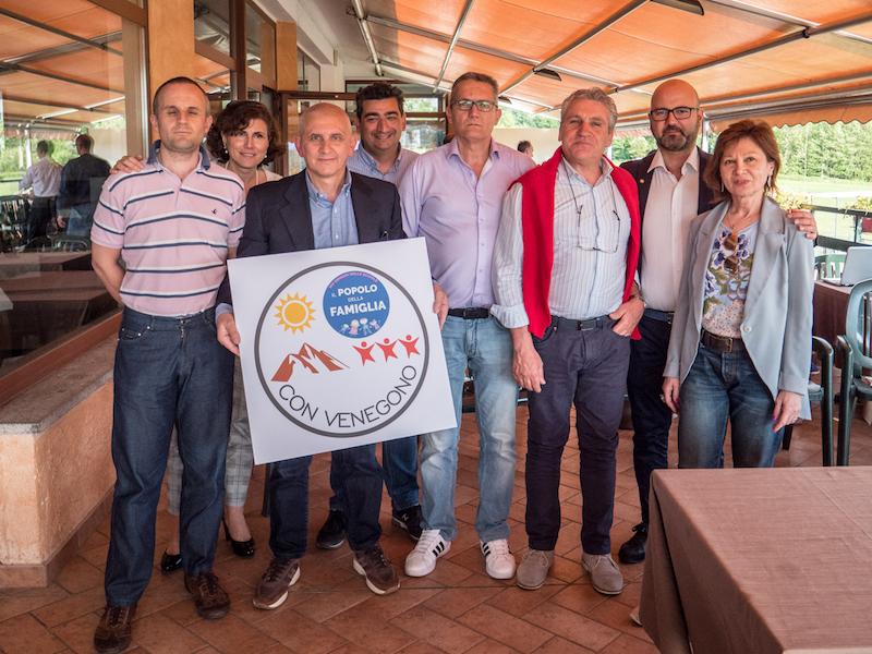 """""""Con Venegono"""" presenta il programma e i candidati che sostengono Castiglioni"""