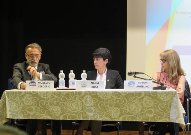 All'oratorio si sfidano i tre aspiranti sindaci: temi generali e qualche scintilla